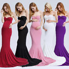 Pregnant Women Off Shoulder Lace Maxi Dress Gown Maternity Photography Props