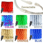 "West Ivory LED Rope Light 1/2"" 2 Wire Accent Christmas Decoration Simple Extend"