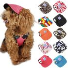 Puppy Dog Baseball Cap Windproof Travel Sports Sun Hats Cap for Puppy Small Dogs