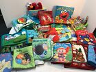 Baby Cloth Soft Fabric Books Interactive CHOICE Lamaze Sesame Street TaGgies ++