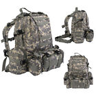 55L Molle Outdoor Military Tactical Bag Camping Hiking Trekking Backpack 3D New