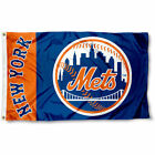 NEW YORK METS FLAG 3'X5' MLB NY METS BANNER: FAST FREE SHIPPING