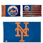 NEW YORK METS FLAG 3'X5' MLB NY METS BANNER: FAST FREE SHIPPING on Ebay