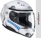 HJC Stormtrooper Star Wars CS-15 Motorcycle Helmet CS15 Storm Trooper Starwars