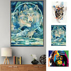 QA_ WOLF MONKEY 5D RESIN PARTIAL DIAMOND PAINTING CROSS STITCH ART HOME DECOR