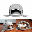 Unique Shark-mouth Shaped Pets Dog Bed Waterproof Soft Warm Plush Pet House~US