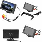 "5""/4.3"" TFT LCD Car Rearview Color Monitor Screen Reverse Kit for Camera DVD BI"