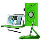 """360 Rotation Leather Case Stand Cover For Samsung Galaxy Tab A6 7"""" 10.1"""" A 9.7"""""""