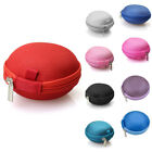 Portable Carrying Case for Earphones Small protective Storage Box for Earbuds