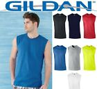 ss Mens T-Shirt TANK Cotton Sleeveless Muscle Tee Shirt Plain  Size S - 2XL 2700 image