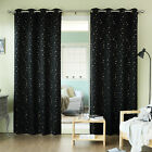 Best Home Fashion, Inc. Geometric Blackout Thermal Grommet Curtain Panels