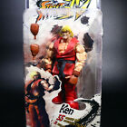"""NECA Street Fighter Ken Ryu Guile 7"""" Action Figure Player Select Game Survival"""