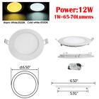 10PACK 20PACK LED Recessed Ceiling Panel Down Light Ultra Slim Kitchen 6-21W <br/> Cold/ Warm White✔Quality Assurance ✔Factory Price ✔
