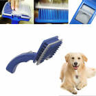 Hot Pets Dog Cat Brush Comb Self Cleaning Slicker Grooming Tool Hair Trimmer SF