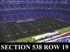 2-4 Denver Broncos vs Kansas City Chiefs Tickets 10/1/18 (Denver) Sec 538 Row 19 on eBay