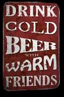 Williston Forge 'Cold Beer' Textual Art on Wrapped Canvas