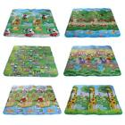 Baby Kids Toddler Activity Creeping Crawl Multipurpose Foam Carpet Rug Play Mat