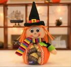 Halloween Pumpkin plush Doll Clear Candy Sweet Bag Childrens Party Decoration