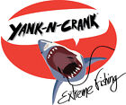 Shark Attack YanK-N-CranK Extreme Fishing Mens T-shirt Week HAT YanKnCranK Combo