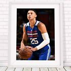 BEN SIMMONS - NBA Basketball Poster Picture Print Sizes A5 to A0 **FREE DELIVERY on eBay