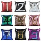 Double Color Glitter Sequin Mermaid Reversible Pillow Cover Sofa Cushion Case