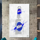 'Drink Labatt Blue Bottle' by PPI Studio Graphic Art on Wrapped Canvas