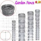 Garden Fence Galvanized Sheep Pig Cattle Livestock Wild Roll Fence 50 M 4 Sizes