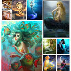 Внешний вид - Full Drill Mermaid 5D Diamond Painting Embroidery Cross Craft Home Decor