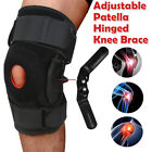 Double Hinged Knee Brace Open Patella Support Stabilizer Medical Sports Wraps on eBay