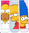 3 Paar The Simpsons Damen Socken Homer Simpson Bart Marge 37-42 Strümpfe Primark