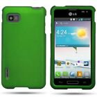 Hard Snap On Shell Accessory Plastic Phone Cover Case For LG Optimus F3