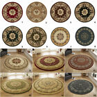 CLASSIC ORIENTAL CIRCLE RUG LARGE PERSIAN THICK TRADITIONAL ROUND RUGS By THINK