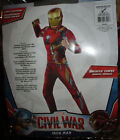 Marvel Iron Man Muscle Chest Child Boys Halloween Costume - Rubies 620592