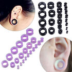 22×Flexible Silicone 3.2-20MM Ear Tunnels Plugs Gauges Expander Stretching Kits