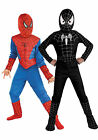 3tlg Kinder Jungen Spiderman Cosplay Kostüm Outfit Sets Party Fasching Kostüm