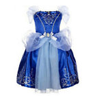 UK Kids Fancy Princess Dress Up Kids Girls Fairytale Cosplay Party Costume Dress