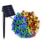 12M 100 LED Solar Power Fairy Light String Lamp Party Xmas Decor Garden Outdoor