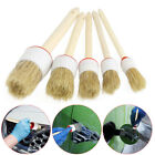 Hot Soft Wood Handle Paint Car Wash Brush Cleaning For Car Care Auto Seat Wheel