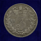 SILVER THREEPENCE (3d) COIN - 1854 to 1901 - VICTORIA - Choose Your Year