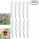 MTB Plant Supports Spiral Tomato Cages Green 59 inch Height/Dia 6mm, Pack of 10