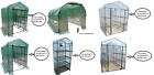 MTB Outdoor Portable Walk-in Garden Greenhouse with PVC/PE Cover-Various Size