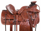 Western Wade Roping Saddle Ranch Training Pleasure Trail Leather Horse Tack