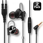 Wired Earbuds with Mic Volume Control, Stereo Bass Noise Cancelling Headphones
