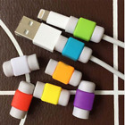 USA~2-8pc~Charger Cable Saver Protector Apple iPhone Android Universal Power USB