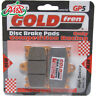 Suzuki TV 250 J K Wolf 1988 Goldfren Front GP-5 Disc Brake Pads