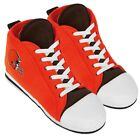 Cleveland Browns High Top Sneaker SLIPPERS New - FREE U.S.A. SHIPPING