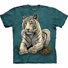 The Mountain Kid's Youth T-Shirt - White Tiger S-M-L-XL NWT