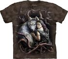 SOUL BOND WOLF The Mountain T Shirt Anne Stokes Unisex