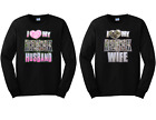 I Love My Crazy Redneck Husband And Wife Matching Couple Long Sleeve Tees New