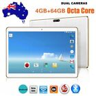 """10.1 """" Octa-core 4g+64g Android Dual Sim Camera Phone Pad Wifi Phablet Tablet Dr"""
